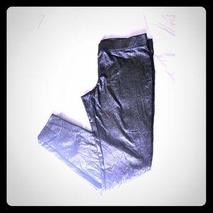 Liquid shimmer leggings NWT
